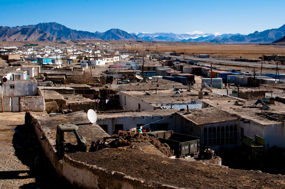 Miasto Murghab ijego domy