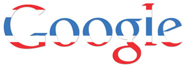 Tajskie Google w dniu urodzin Króla