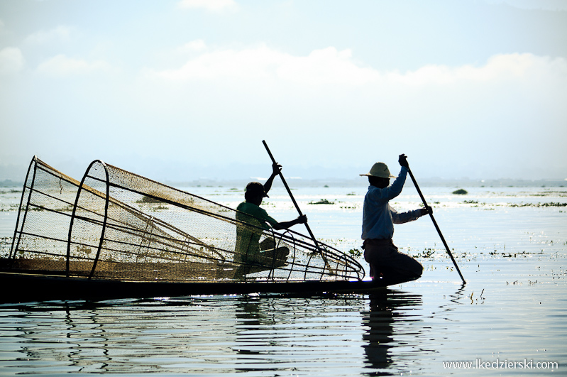 Rybacy na Inle Lake, Birma - fot. Łukasz Kędzierski