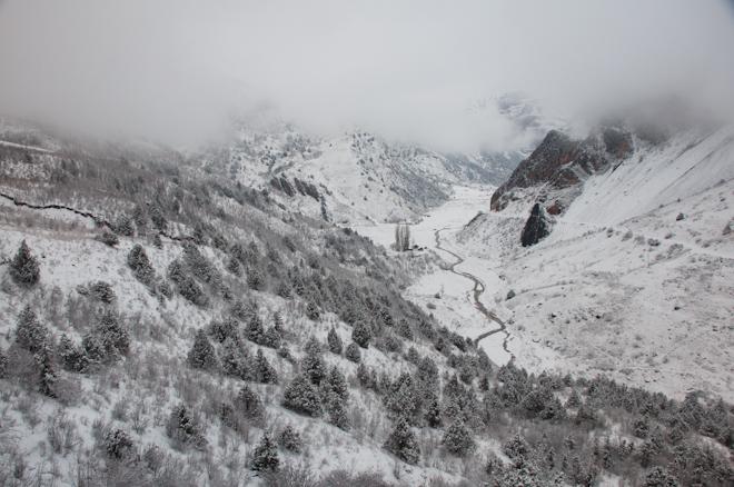 Tadżykistan - przełom listopada i grudnia