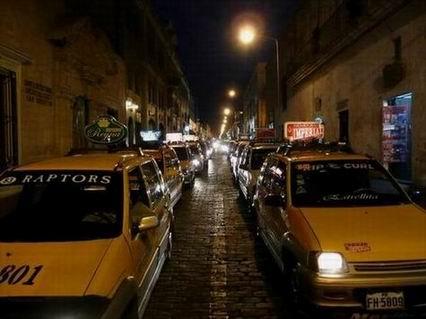 Taksówki w Peru