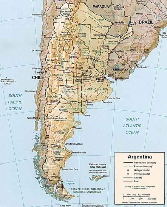 Argentyna – informacje podstawowe