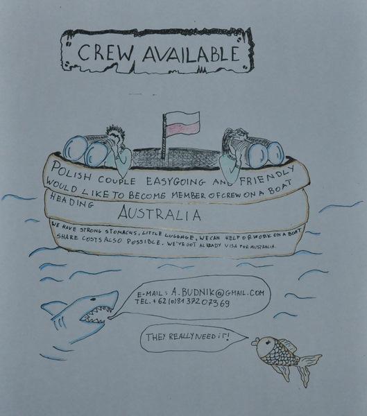 Crew available: Indonesia to Australia