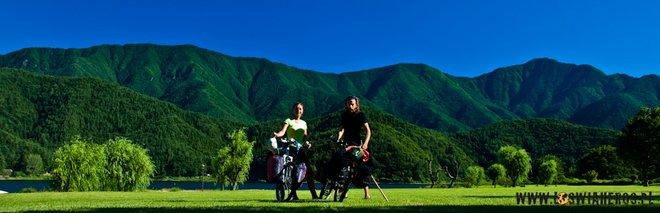 Rowerem przez Japonię