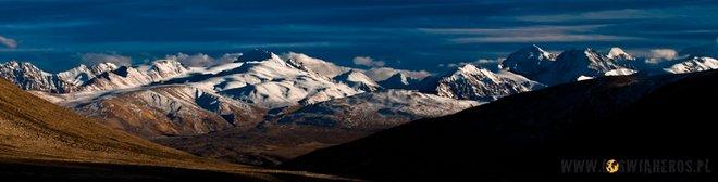Afganistan, Korytarz Wachański widziany z Przełęczy Kargusz