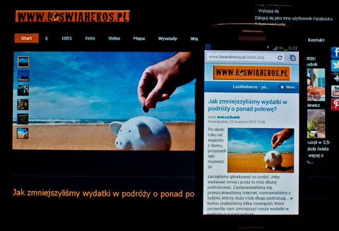 LosWiaheros.pl mobilnie