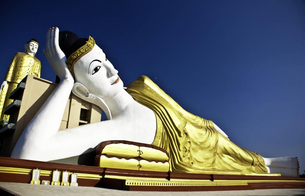 Odpoczywający Budda.