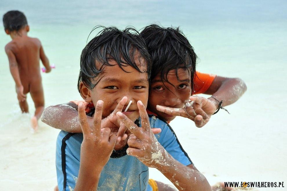 Indonezyjscy chłopcy