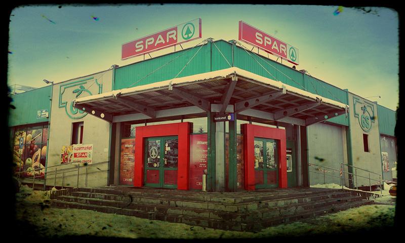 Oryginalny market Spar z Niepołomic pod Krakowemmiejscowości Czerwionka Leszczyny