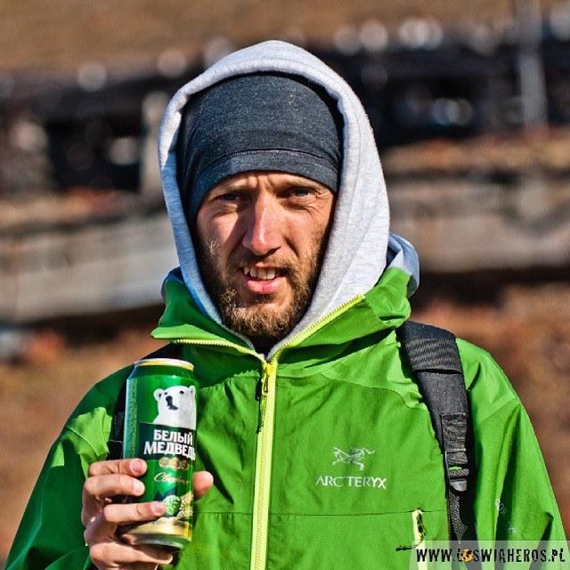 Na Spitsbergenie nawet piwo jest z niedźwiadkiem polarnym ;-) #Svalbard2014 #Spitsbergen #Arctic #Svalbard #beer