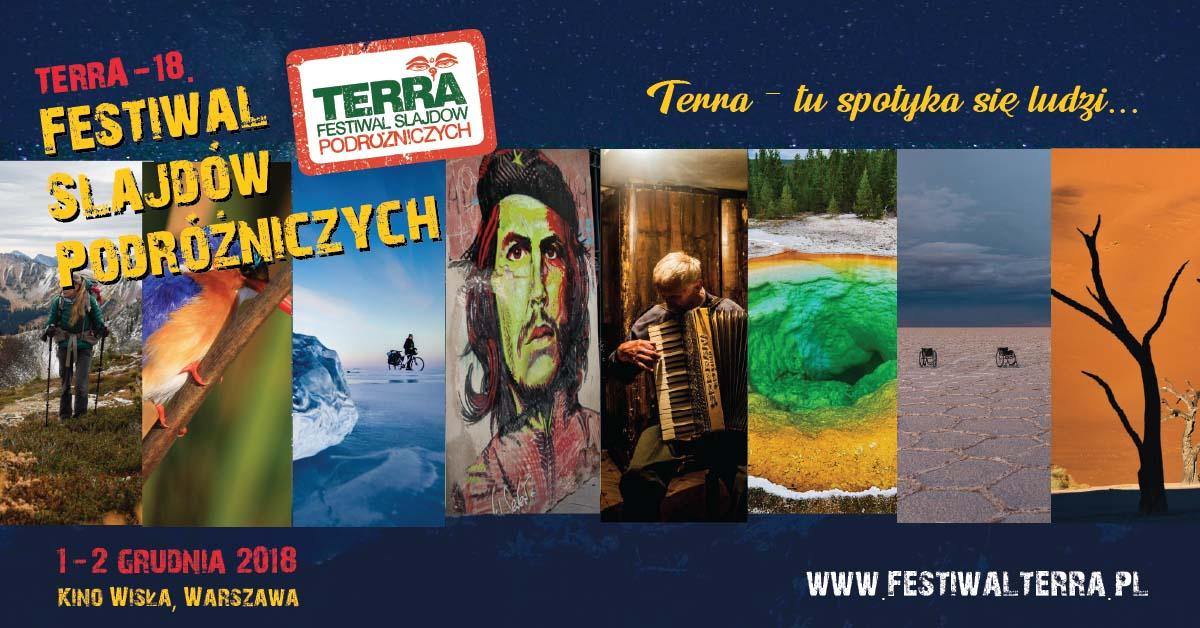 TERRA - 18 Festiwal Slajdów Podróżniczych @ Kino Wisła, Plac Wilsona 2