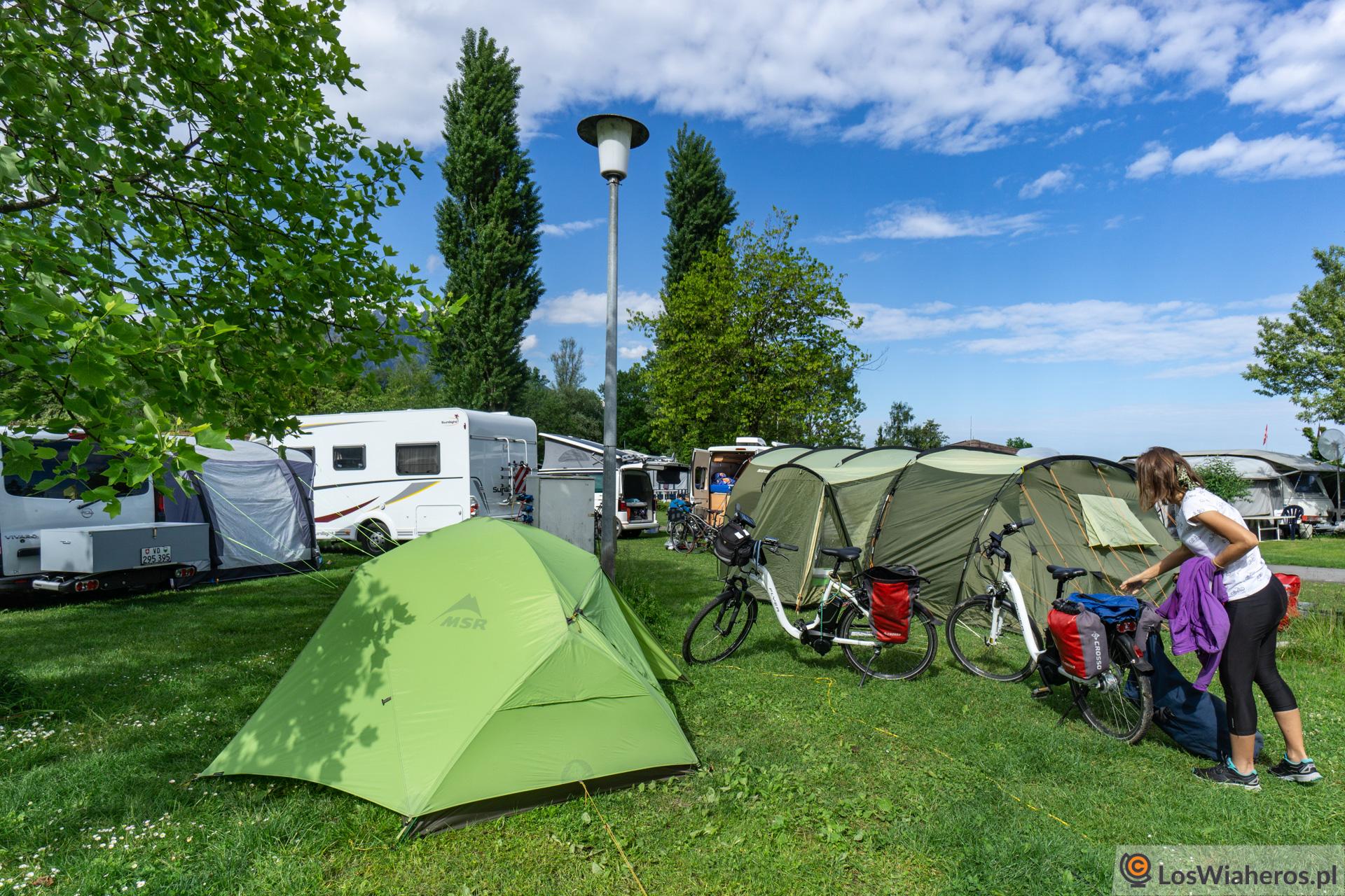 Camping des Horizons Bleus wVilleneuve