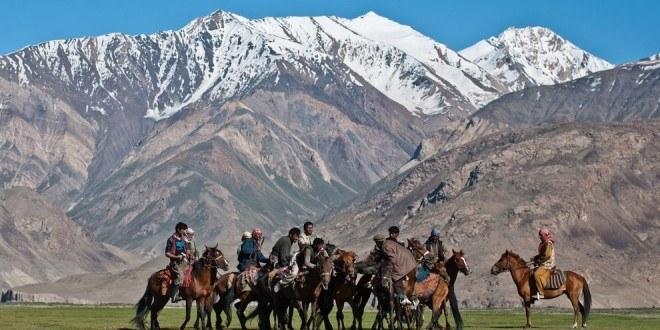 Afgańczycy, a dokładnie Wachowie w walce o kozie truchło
