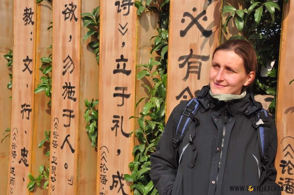 Alicja wśród mądrości Konfucjusza.