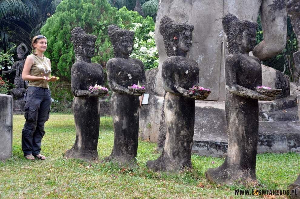 Buddha Park koło Vientiane