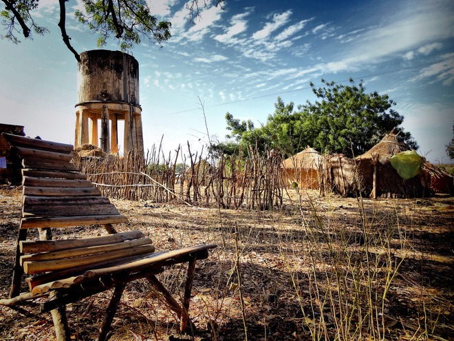 Anna Janik, wioska podrodze doBafoulabe, Mali.