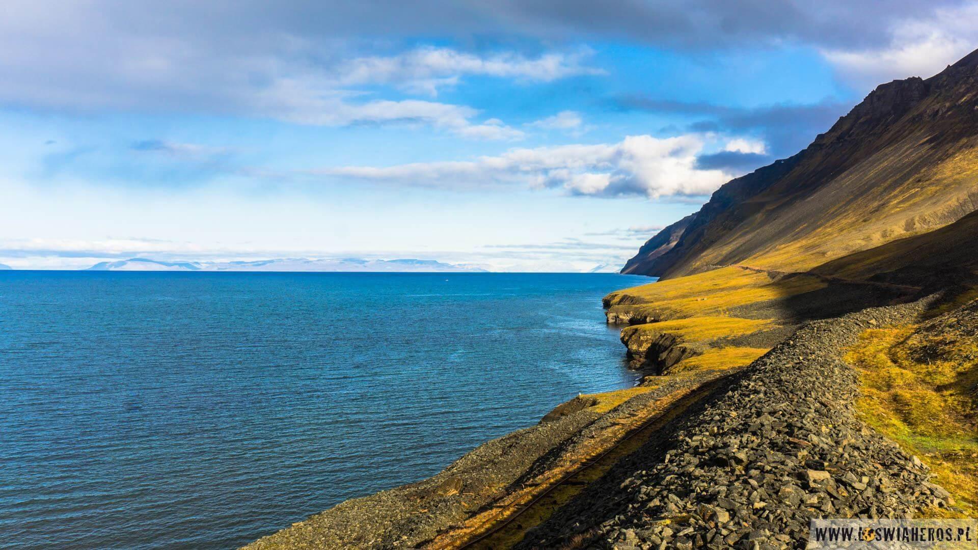 Spitsbergen zwidokiem naMorze Grenlandzkie
