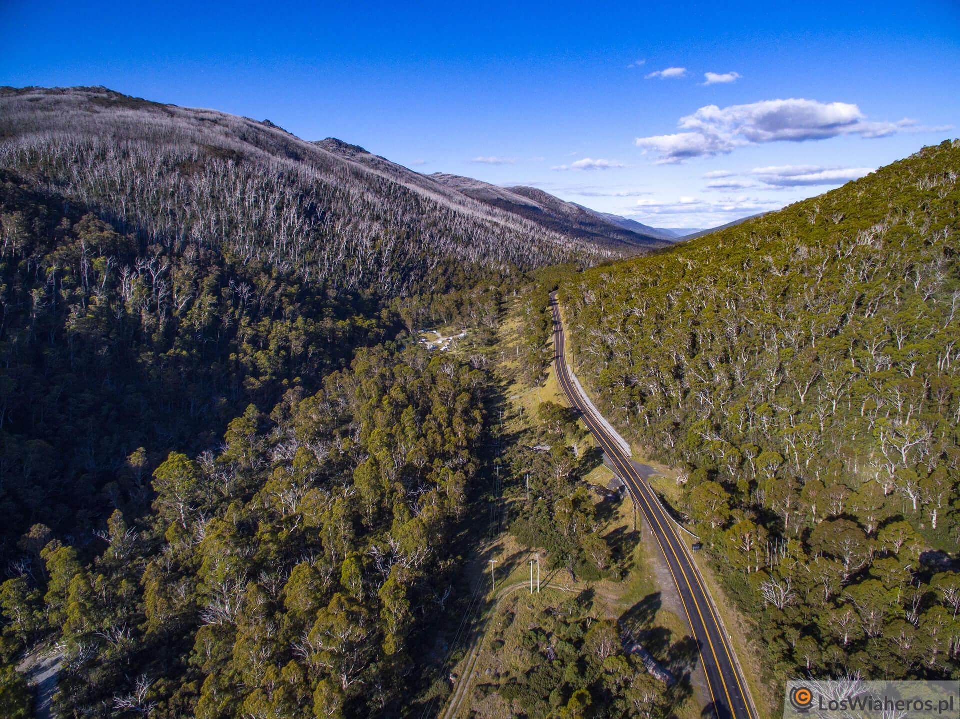 The Alpine Way, Kosciuszko National Park, Australia