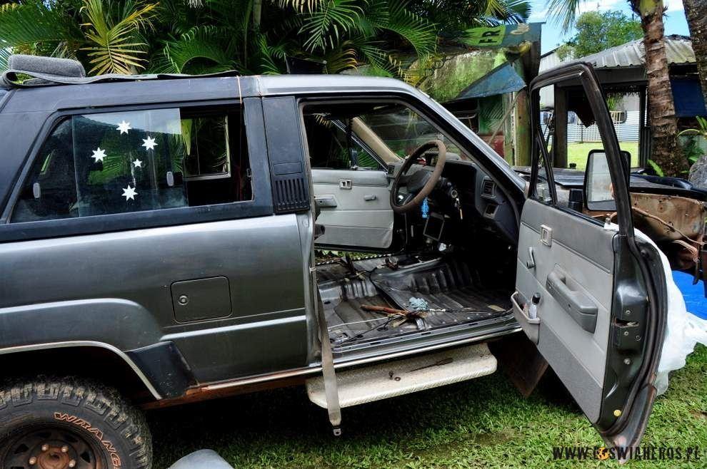 Samochód bez siedzeń - wersja sporty ;)