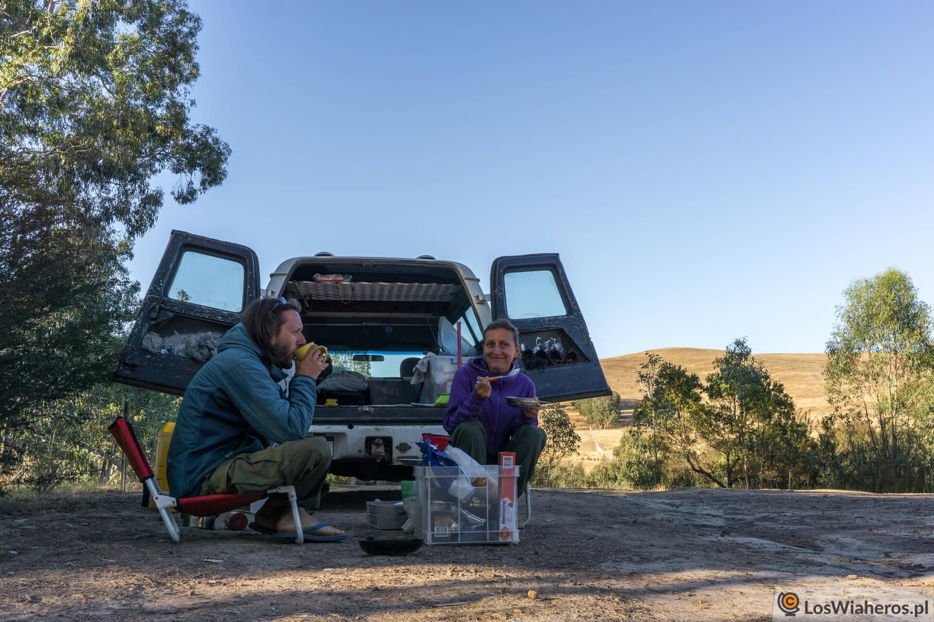 W australijskim Outbacku trzeba być samowystarczalnym.