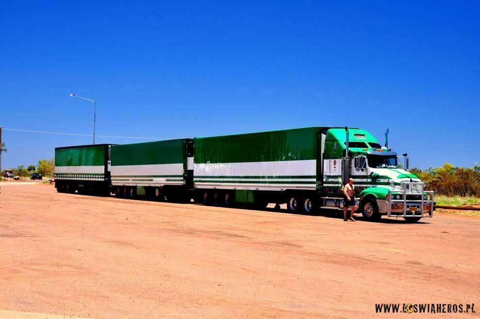 Road train, czyli australijski TIR