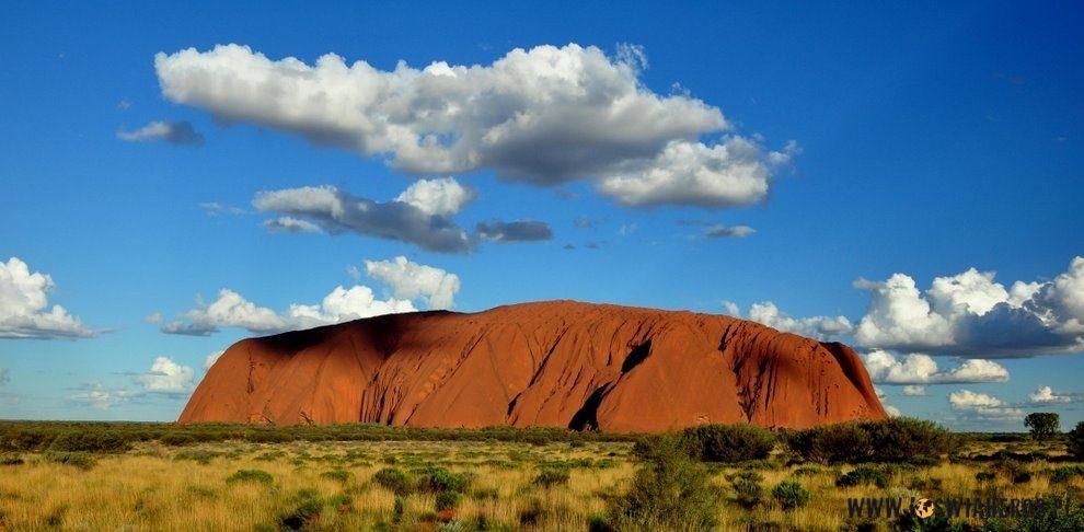 Uluru lub Ayers Rock - serce Australii