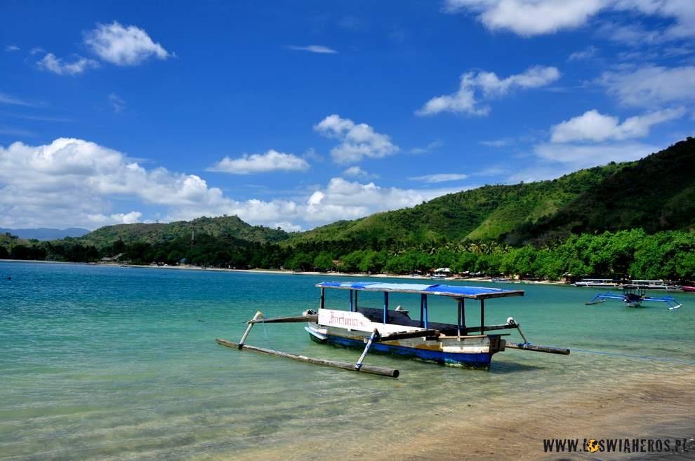 Bajkowa zatoka w południowo-wschodniej części Lomboku.