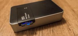 WD MyPassport Wireless, który sam zgrywa dane z karty SD / microSD.