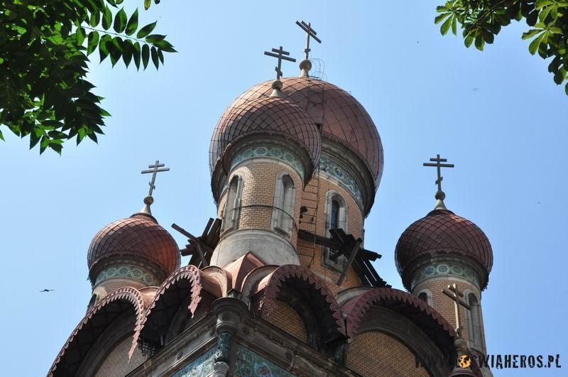 Cerkiew w centrum Bukaresztu.