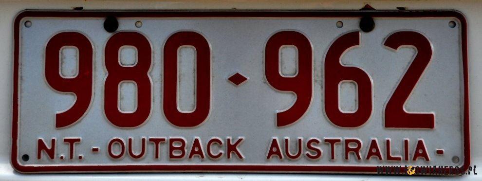 Moje ulubione tablice oczywiście z Northern Territory :)