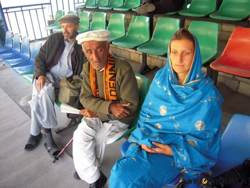Na trybunach podczas turnieju Polo. Carlos, Mr Beig iAlicja.