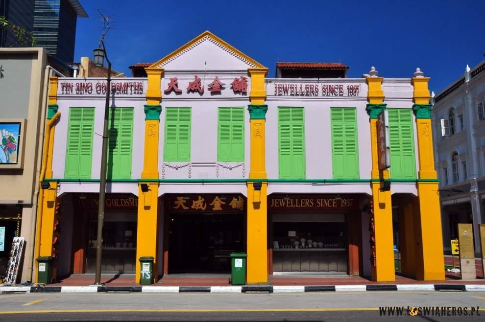 Sterylna China Town w Singapurze