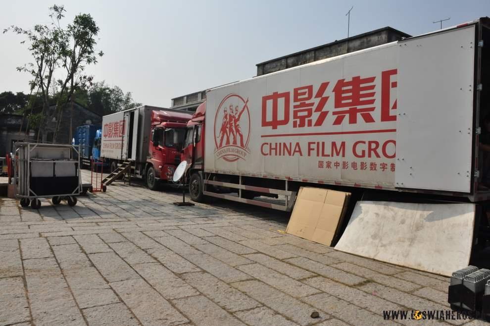 Chińska ekipa filmowa w akcji!