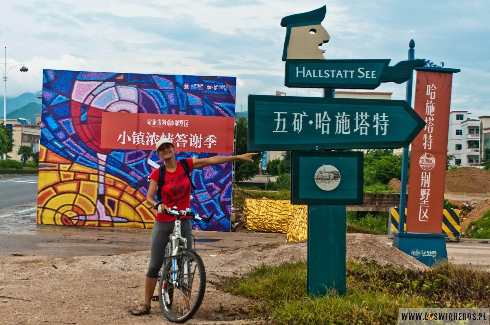 Chińskie miasto Hallstatt