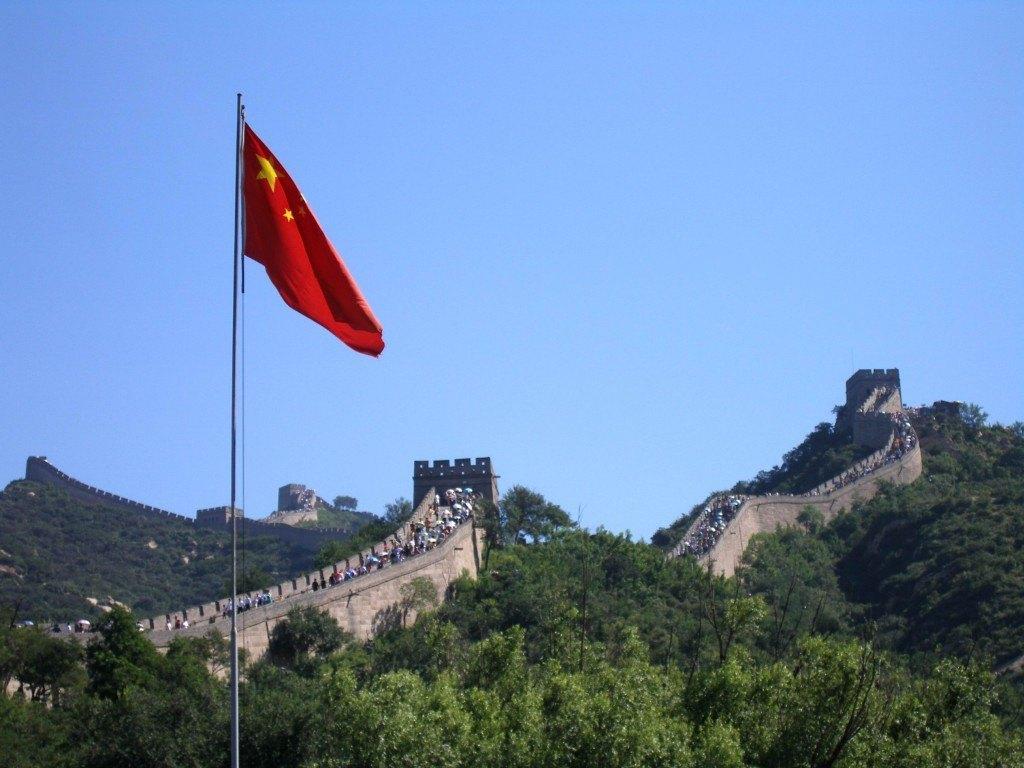 Wielki Mur Chiński pełen Chińczyków, ajak!