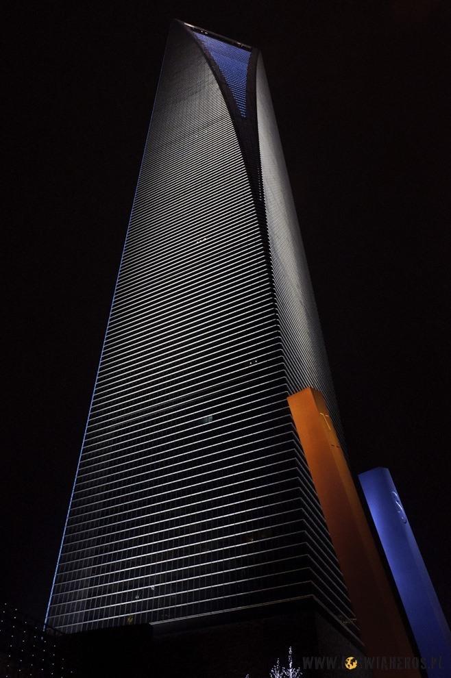 Najwyższy budynek wChinach, anasamej górze najczystsza toaleta? Tak!