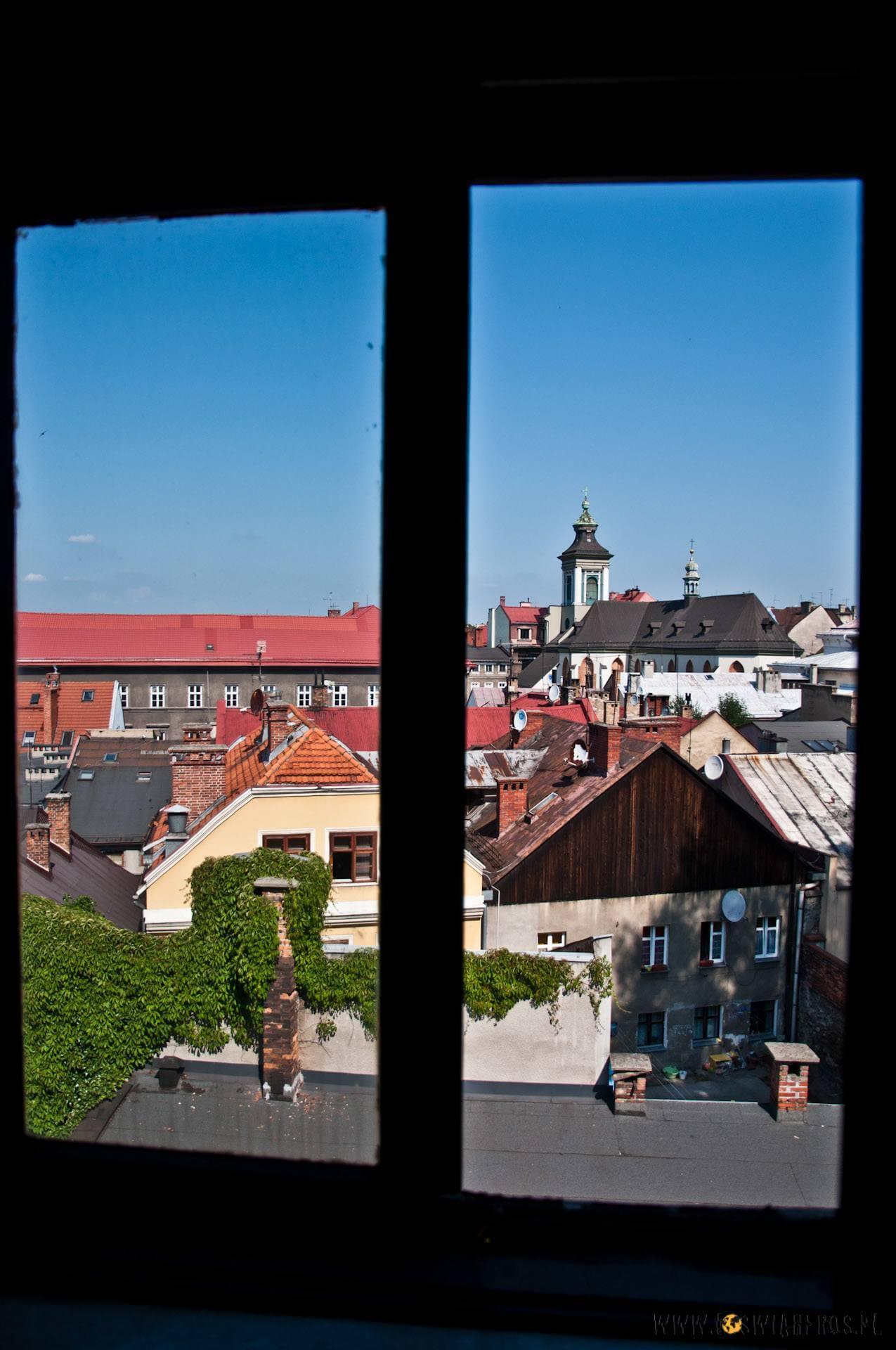 Widok na centrum Cieszyna, a raczej jego dachy... [f/3.5, 16mm]
