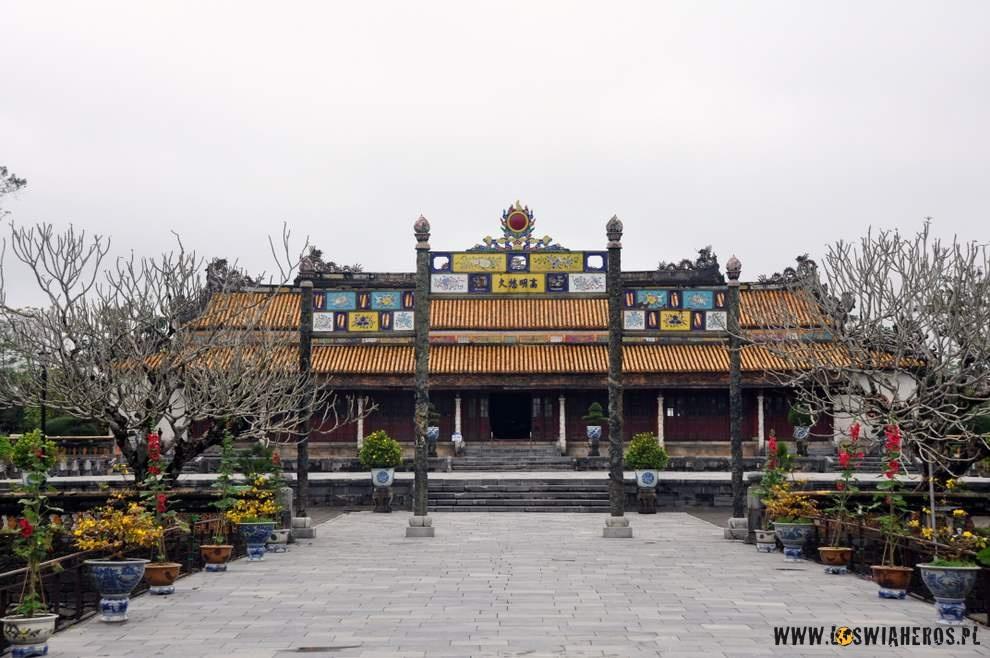 Chodząc po Purpurowym Mieści w Hue wspomnienia z Pekinu bardzo szybko wróciły. Dlaczego? Dlatego, że pekińskie Zakazane Miasto właśnie tak mogło kiedyś wyglądać...