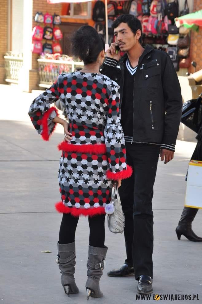 Młodzi Ujgurzy.