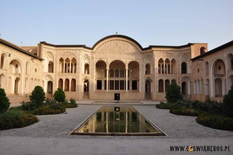 Dom Abbasian - historyczna dzielnica w Kaszan
