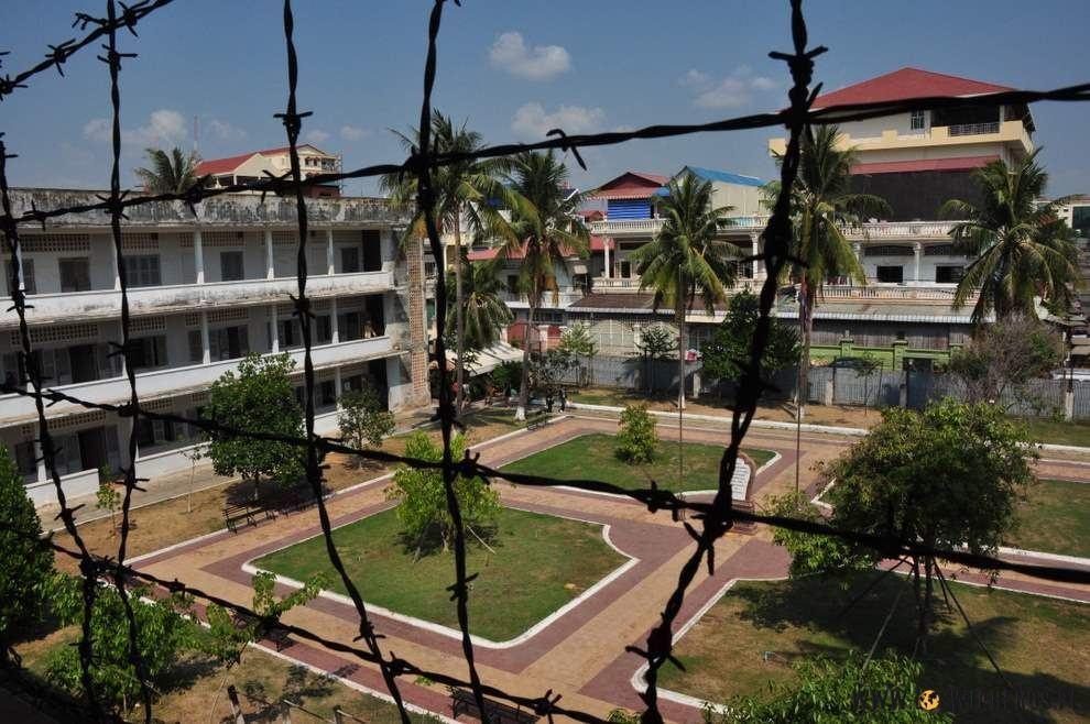 Więzienie S21 kmerskiego reżimu Pol Pota.