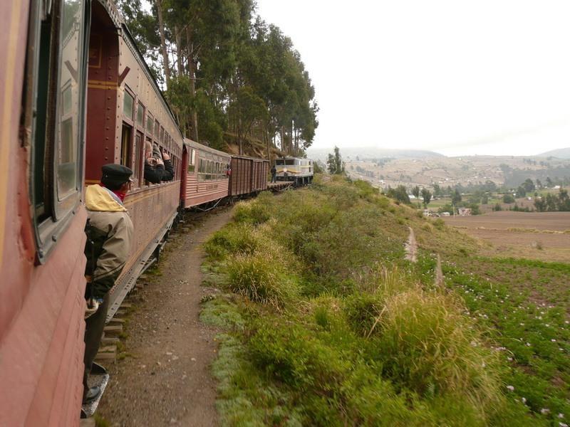 Trasa przezNariz del Diablo, Ekwador.
