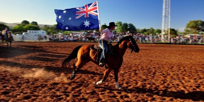 Grand Entry, czyli oficjalne otwarcie każdego Rodeo.