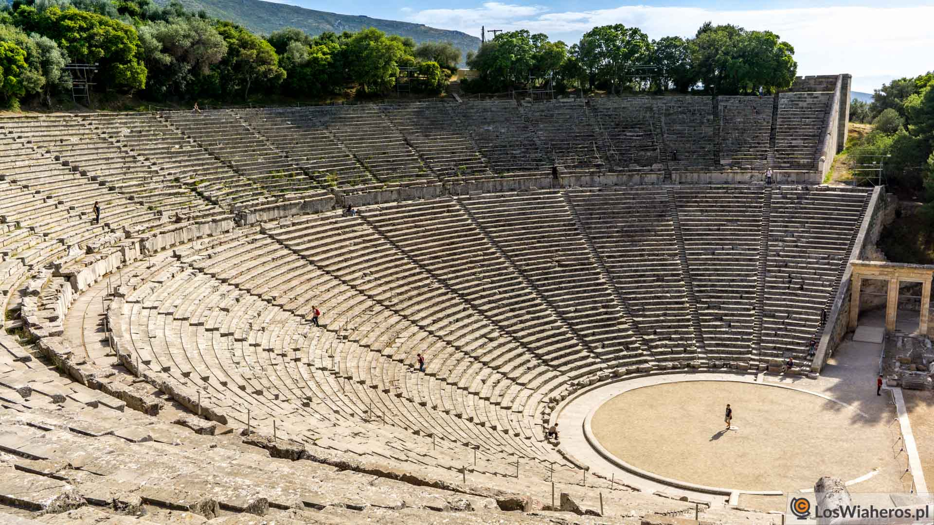 Antyczny teatr w Epidauros