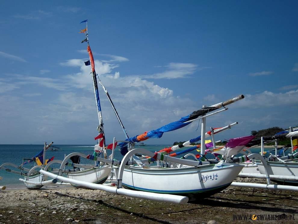 Łodzie rybackie wBangko Bangko.