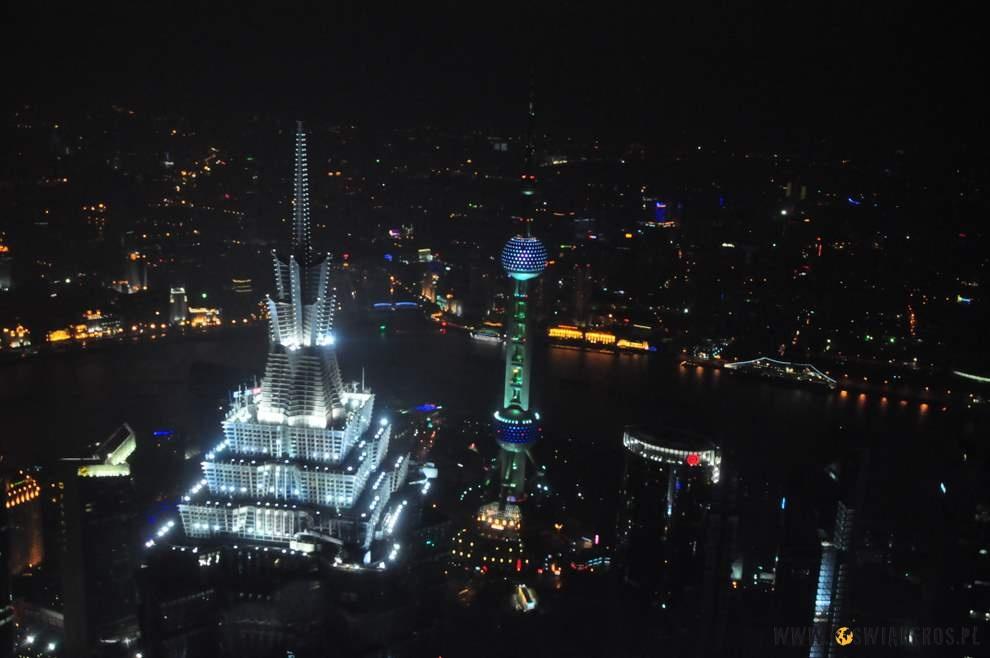 Jing Mao Tower Oriental Pearl Tower ipanorama Szanghaju