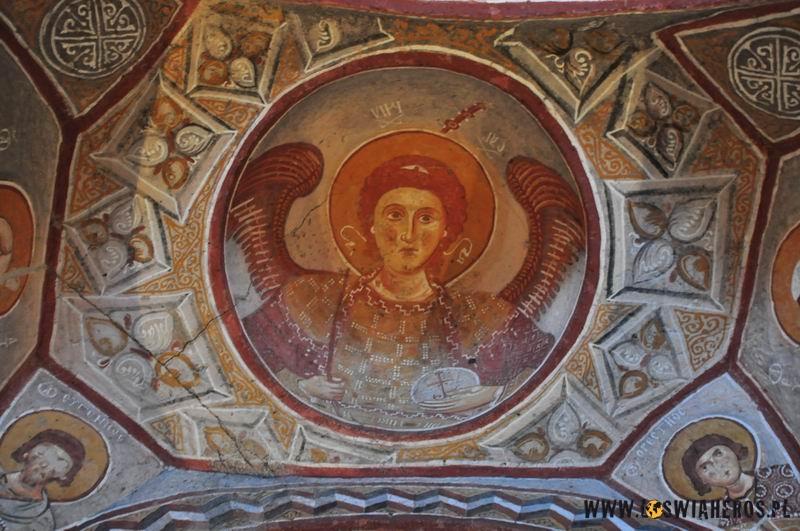 Freski wjednym zeskalnych kościołow.