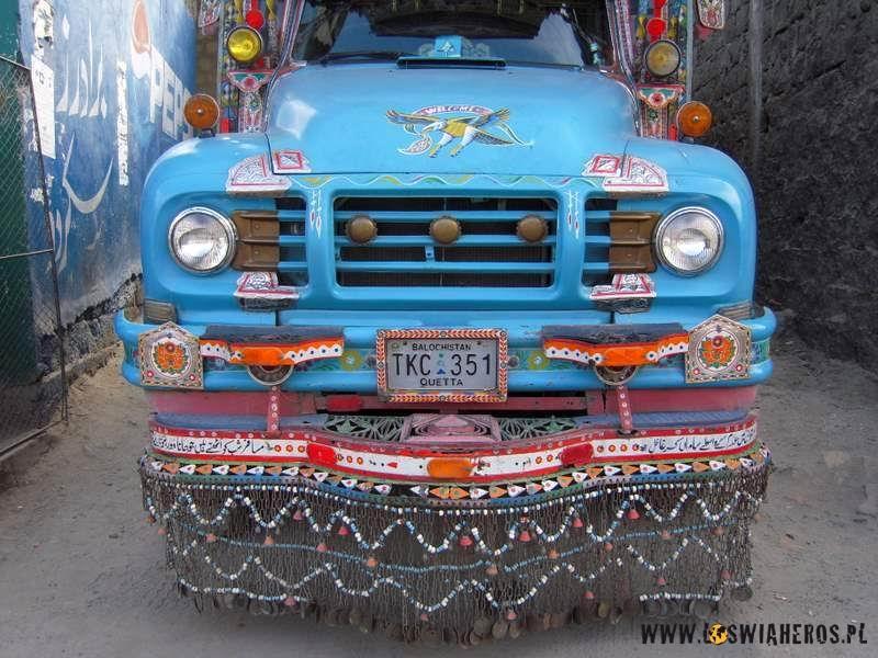 Najfajniejsze są ciężarówki wstylu Bredford TJ