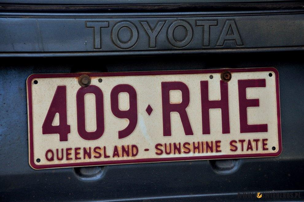 Quensland - kraina wiecznie świecącego słońca! Hmm... no nie do końca, ale slogan dobry :)