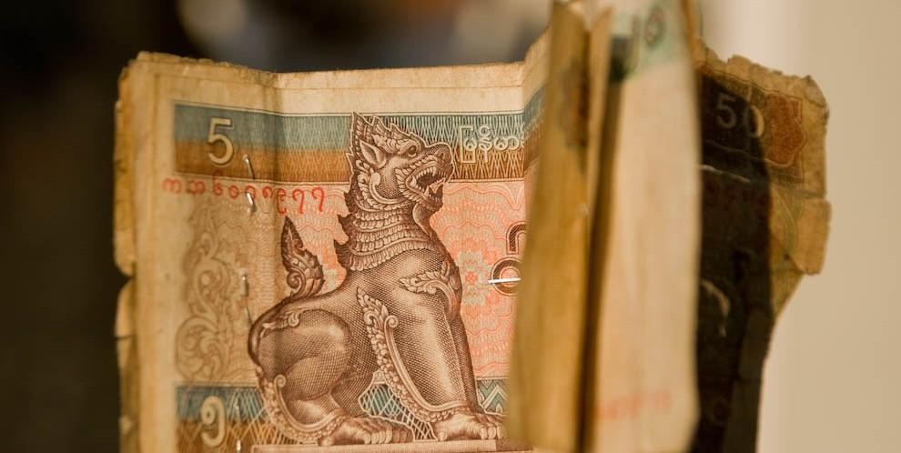 Cinkciarze (wymiana waluty w Birmie)